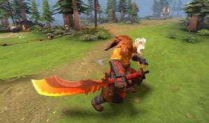 Auspicious Dragon Sword (Juggernaut)