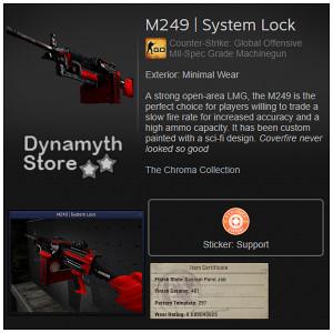 M249 | System Lock (Mil-Spec Grade Machinegun)