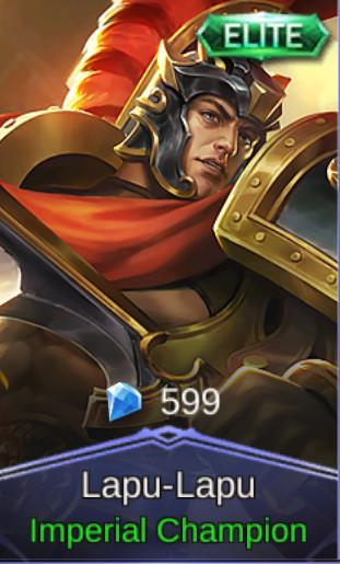 Imperial Champion (Elite Skin Lapu-Lapu)