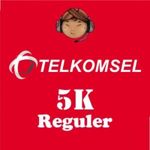 Pulsa Telkomsel 5K Reguler