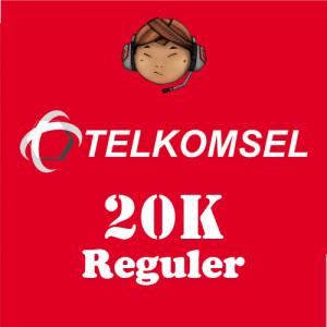 Pulsa Telkomsel 20K Reguler