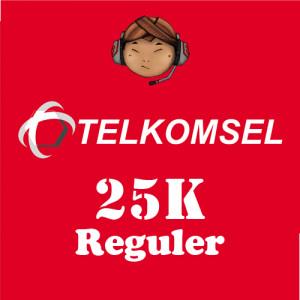 Pulsa Telkomsel 25K Reguler