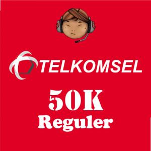 Pulsa Telkomsel 50K Reguler