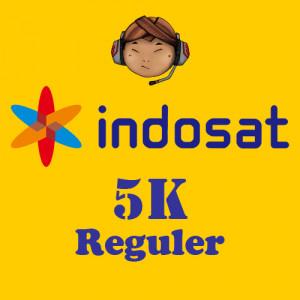 Pulsa Indosat 5K Reguler