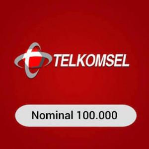 Telkomsel 100000 (Rp. 100.000 )