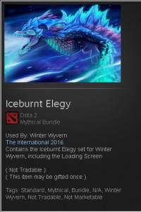 Iceburnt Elegy (Winter Wyvern Set)