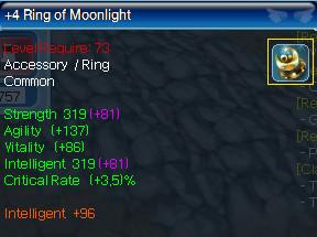 Ring of Moonlight +4