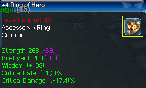 Ring of Hero+4 CR and CD