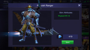 Roguish Ranger (Elite Skin Yi Sun-shin)