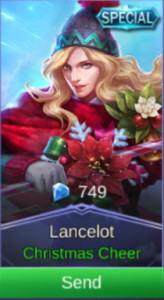christmas cheer (Special Skin Lancelot)