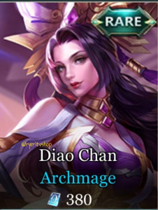 Archmage (Rare Skin Diao Chan)