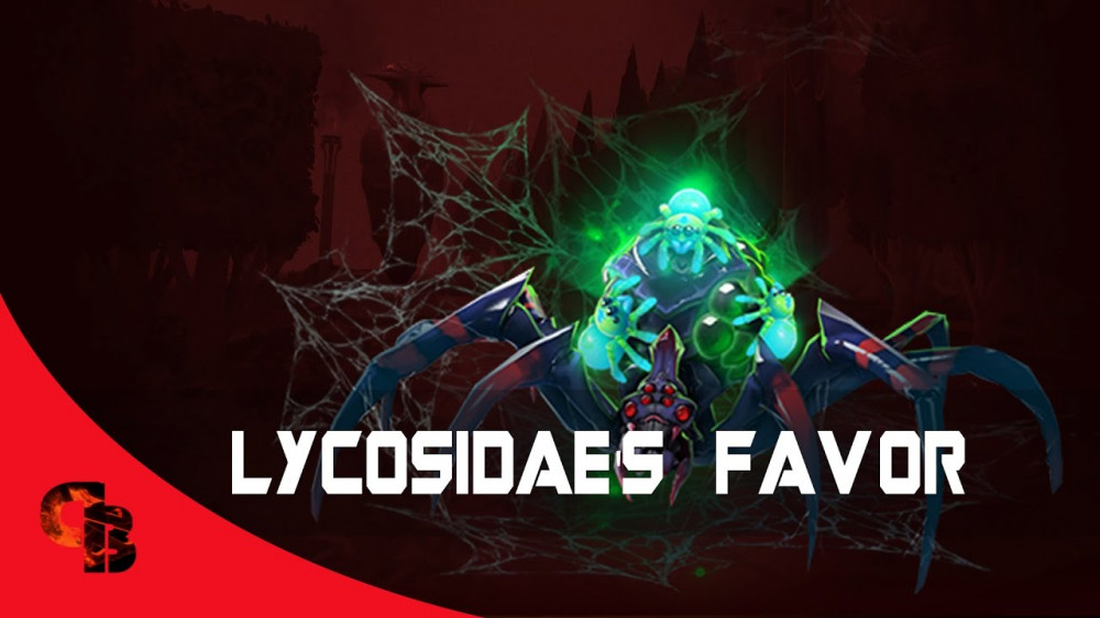 Lycosidae's Favor (Immortal TI7 Broodmother)