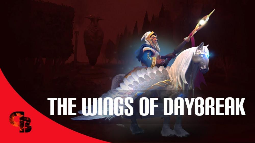 Wings of Daybreak (Immortal TI7 Keeper of the Light)