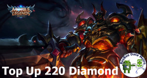 (iOS&Android) Top Up 220 Diamonds