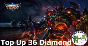 (iOS&Android) Top Up 36 Diamonds