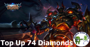 (iOS&Android) Top Up 74 Diamonds