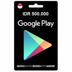 Google Play Gift Card – IDR 500.000