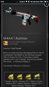 M4A4 | Asiimov (Covert Rifle)
