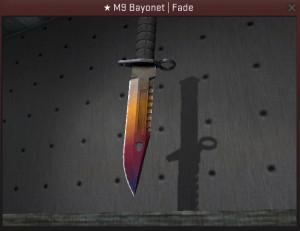 ★ M9 Bayonet | Fade (★ Covert Knife)