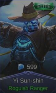 Roguish Ranger (Elite Skin Yi Sun-shin)