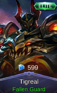 Fallen Guard (Elite Skin Tigreal)