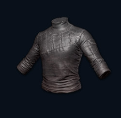 Long-sleeved Leather Shirt