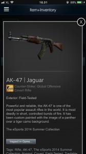 AK-47 | Jaguar (Field Tested )