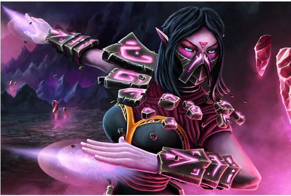 Ins Epitaphic Bonds+Kinetic (Templar Assassin Set)