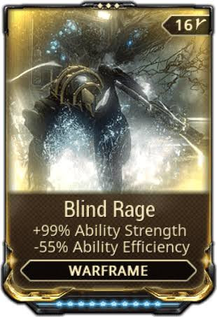 Blind Rage max rank 10