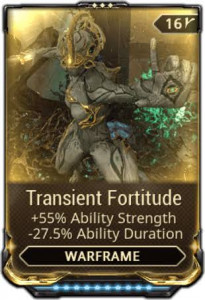 Transient fortitude max rank 10