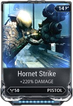 Hornet Strike max rank 10