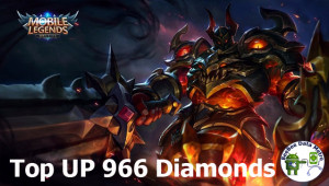 (iOS&Android) Top Up 966 Diamonds