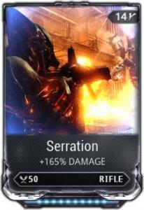 Serration max rank 10