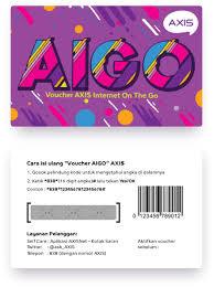 AXIS VOUCHER AIGO 2GB 24JAM 60HARI