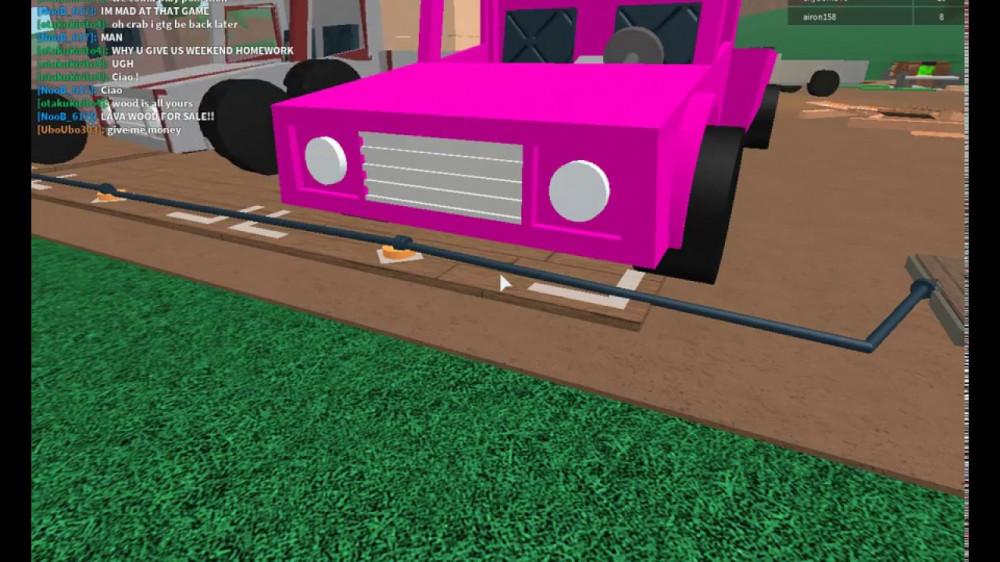 lumber tycoon 2 Pink car