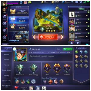 Special Freya/Hero 26/Skin 16/Emblem GG/ aman 100%