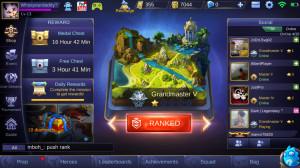 Akun Mobile Legends Granaster V Smurf