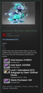 Genuine Wyvern Hatchling (Courier)