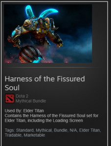 Harness of the Fissured Soul (Elder Titan Set)