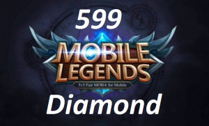 (iOS&Android) Top Up 599 Diamonds