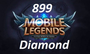 (iOS&Android)  Top Up 899 Diamonds