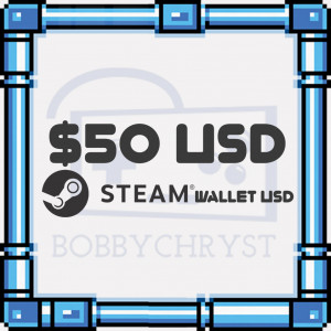 Steam Wallet Code - US$50
