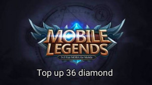 (iOS&Android)  Top Up 36 Diamond