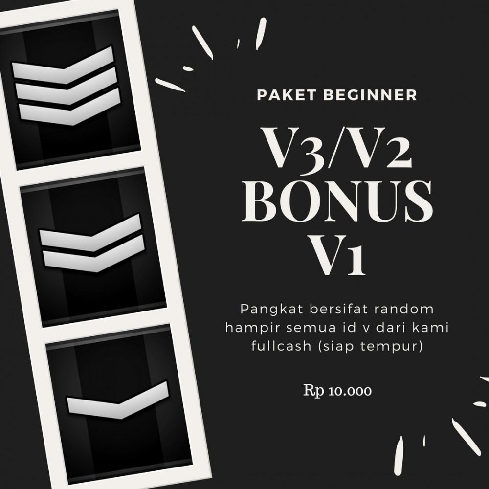 V3 / V2 BONUS V1 (PAKET BEGINER)