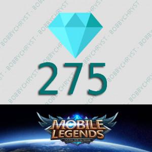 Top Up 275 Diamonds