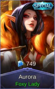 Foxy Lady (Special Skin Aurora)