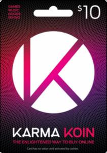 Karma Koin US$ - 10