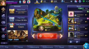 Akun Mobile Legends Mythic
