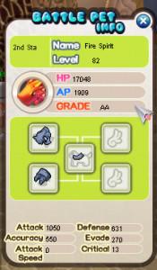 (Battle Pet) Fire Spirit 82 AA
