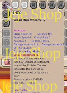 Samael Magic Wings XG
